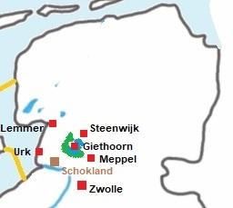 Giethoorn kaart