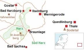 Harz en Bodetal