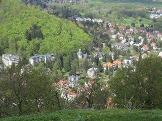De attractracties van bad harzburg de grote burgberg de kabelbaan en het kasteel for Foto in het bad