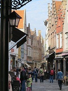 Het centrum van Brugge