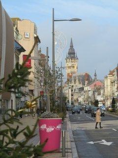 het centrum van Calais