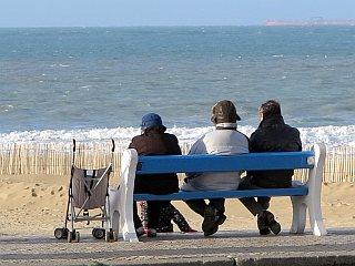 strand van Calais