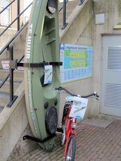 kajaks en fietsen verhuur