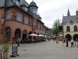 Een hotel in Goslar