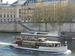 Rondvaartboot in Parijs
