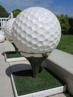 Golfbaan bij Parijs