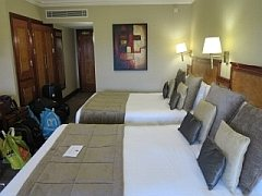 hotelkamer koffers