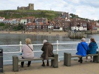 Whitby cliff