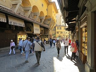 shoppen in Florence
