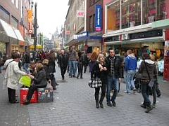 winkelstraat Adalbertstraße