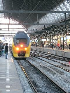 Centraal station in Amesterdam