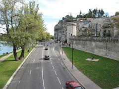 stadsmuur Avignon
