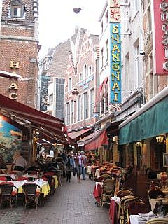 restaurants in Brussel