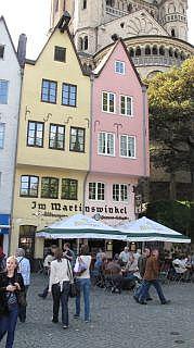 De Altstadt in Keulen