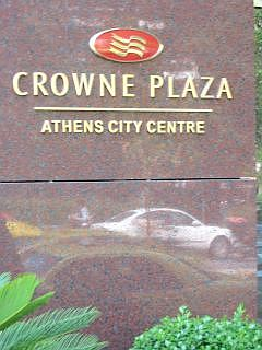 Crown Plaza in Athene