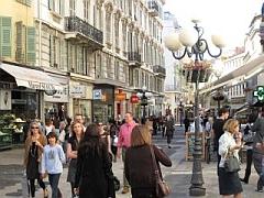 winkelen in Nice