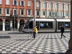 Trams in Nice