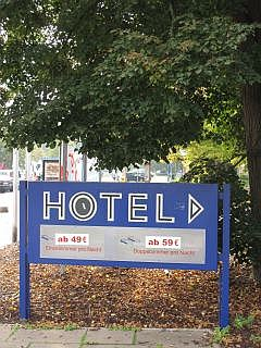 Hotels langs de Autobahn