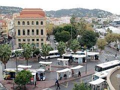 busstation van Cannes