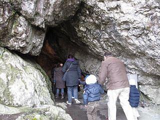 Grotten in Han
