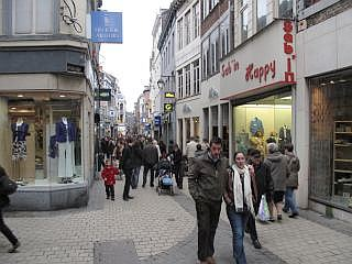 shoppen in Luik