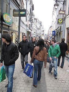shoppen in Belgie