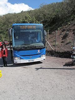 bus naar pompeii