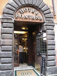 Hotel Fontana in Rome