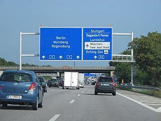 snelweghotels bij Munchen