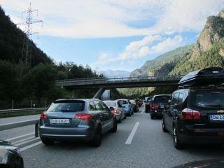 onderweg in Zwitserland