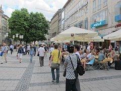 winkelstraat in Munchen