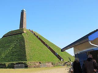 De Pyramide Van Austerlitz Op De Utrechtse Heuvelrug