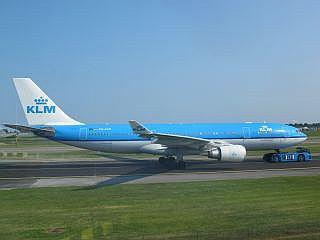 KLM op Schiphol
