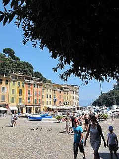 De haven van Portofino