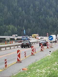 Autobahn in oostenrijk