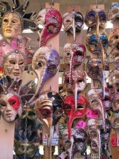 Maskers uit Venetië