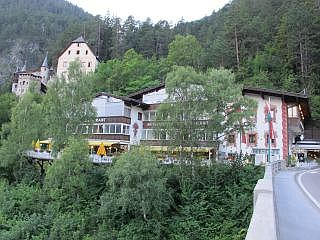 Hotel langs de Brenner Pass Route