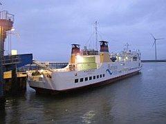 de veerboot naar Borkum