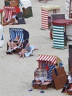 Het strand van Borkum