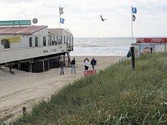 strandpaviljoen in Egmond aan Zee