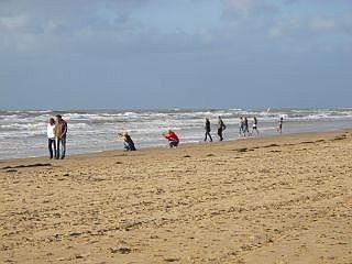 Het strand van Egmond aan Zee