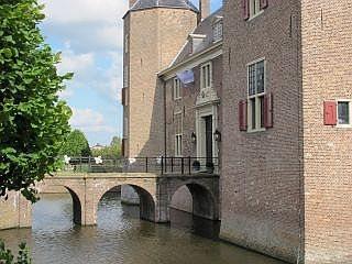 Een hostel in een kasteel
