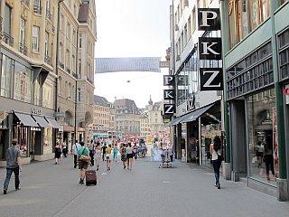 winkelstraat Bazel