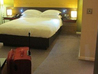 een hotelkamer