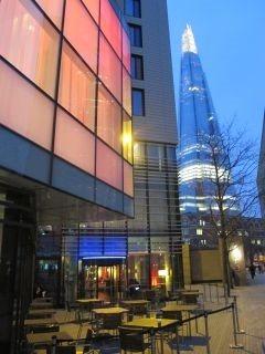 Hilton Hotel en Shard Tower