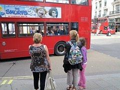 bussen in Londen