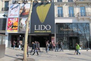 Het de show van het Lido
