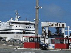 aankomst veerboot Calais