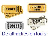 Kaartjes voor attracties