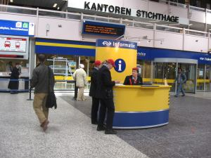 Station in Den Haag